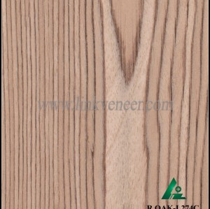 R.OAK-L274C, rotary cut oak wood engineered wood veneer