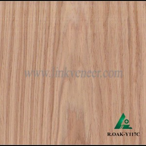 R.OAK-Y117C, red oak engineered wood veneer,red oak veneer