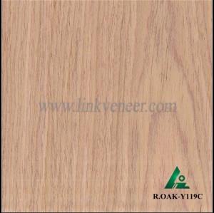 R.OAK-Y119C, 0.3mm face veneer engineered wood veneer red oak veneer for plywood veneer