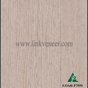 S.OAK-F755S, Recon oak wood veneer with high quality engineered wood veneer