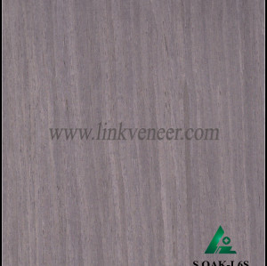S.OAK-L6S, 0.5mm engineered silver oak wood veneer for furniture