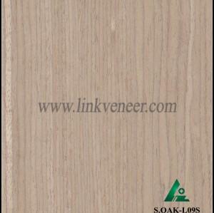 S.OAK-L09S, Oak engineered veneer reconstituted veneer recon veneer supplier