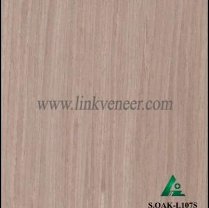 S.OAK-L107S, engineered oak wood veneer / recon veneer