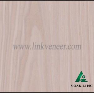 S.OAK-L110C, 0.35mm engineered oak wood veneer for furniture