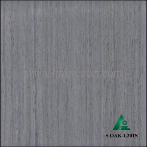 S.OAK-L201S, Oak engineered veneer reconstituted veneer recon veneer supplier