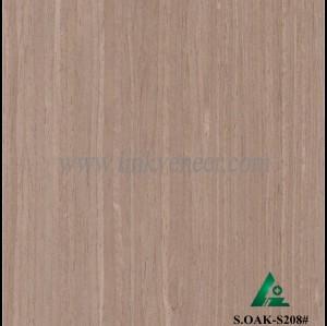 S.OAK-S208#, engineered wood face veneer solid wood color face veneer