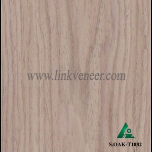 S.OAK-T1082, factory directly A grade wood veneer prices for furniture