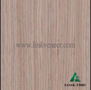 S.OAK-T5082, engineered oak wood veneer / recon oak veneer