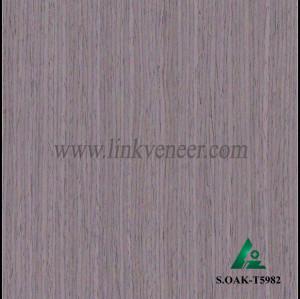 S.OAK-T5982, Oak wood engineered veneer for plywood