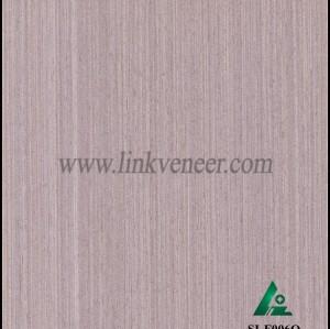 SI-F006Q, Reconstituted straight grain oak wood veneer