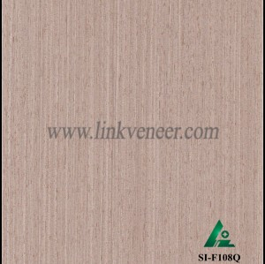 SI-F108Q, Reconstituted straight grain oak wood veneer