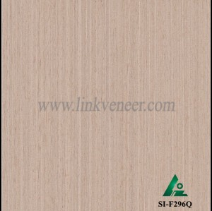 SI-F296Q, Reconstituted straight grain oak wood veneer