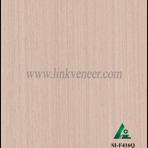 SI-F416Q, Reconstituted straight grain oak wood veneer