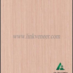 SI-F1627Q, Reconstituted straight grain gray oak wood veneer