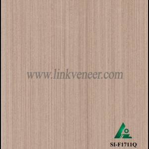 SI-F1711Q, Reconstituted straight grain oak wood veneer