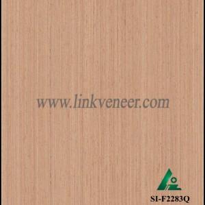SI-F2283Q, Reconstituted straight grain oak wood veneer