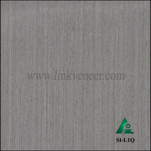 SI-L1Q, Reconstituted straight grain oak wood veneer
