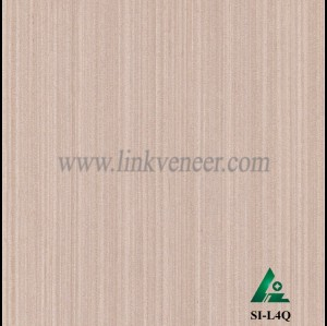 SI-L4Q, Reconstituted straight grain oak wood veneer