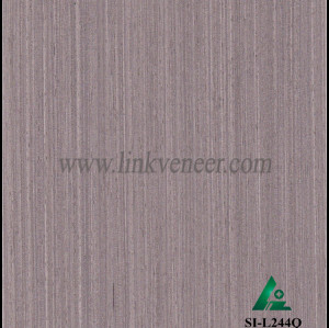 SI-L244Q, Reconstituted straight grain oak wood veneer