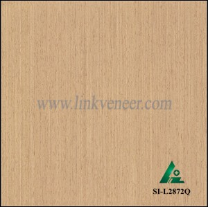 SI-L2872Q, Reconstituted straight grain oak wood veneer