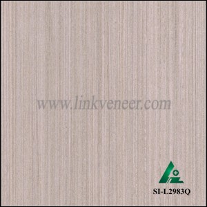 SI-L2983Q, Reconstituted straight grain oak wood veneer