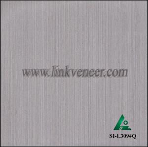 SI-L3094Q, Reconstituted straight grain oak wood veneer