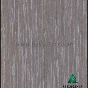SI-L3522N (S), Reconstituted straight grain oak wood veneer