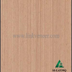SI-L4339Q, Engineered Wood Veneer , straight grain oak
