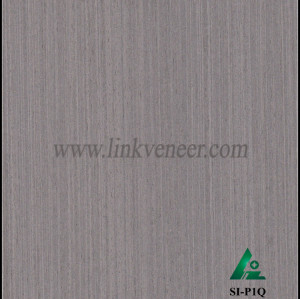 SI-P1Q, Engineered oak wood veneer for hotel decoration