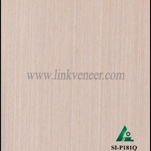SI-P181Q, Engineered oak wood veneer for hotel decoration