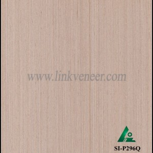 SI-P296Q, Engineered straight grain oak wood veneer