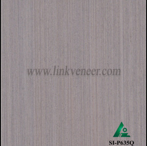 SI-P635Q, Engineered straight grain oak wood veneer