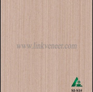 SI-S1#, Engineered straight grain oak wood veneer