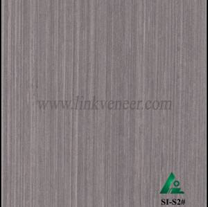 SI-S2#, Engineered straight grain oak wood veneer
