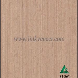 SI-S6#, Engineered straight grain oak wood veneer