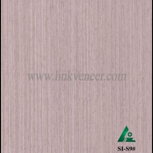 SI-S9#, Engineered straight grain oak wood veneer