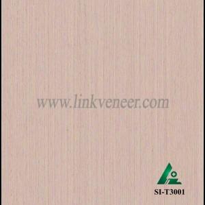 SI-T3001, Engineered straight grain oak wood veneer