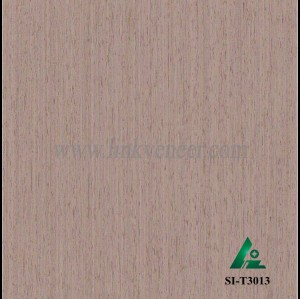 SI-T3013, Engineered straight grain oak wood veneer