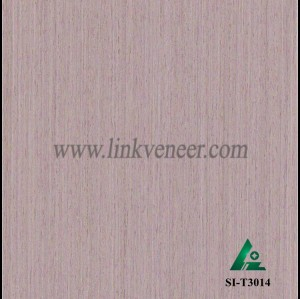 SI-T3014, Engineered straight grain oak wood veneer