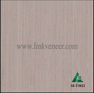 SI-T3022, Engineered straight grain oak wood veneer