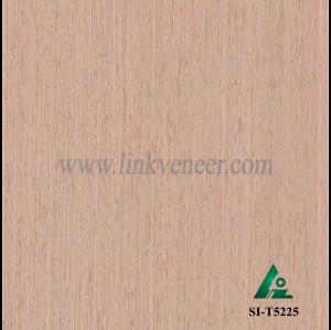 SI-T5225, Engineered oak wood veneer for hotel decoration