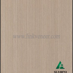 SI-Y007Q, Engineered oak wood veneer for hotel decoration