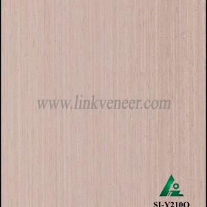 SI-Y210Q, Engineered oak wood veneer for hotel decoration