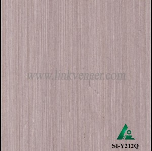 SI-Y212Q, Engineered oak wood veneer for hotel decoration