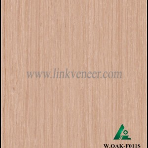 W.OAK-F011S, Engineered washed oak wood veneer for hotel decoration