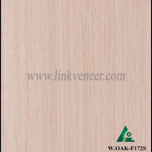 W.OAK-F172S, washed oak wood veneer for door skins and plywoo