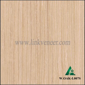 W.OAK-L007S, high grade furniture used engineer washed oak veneer