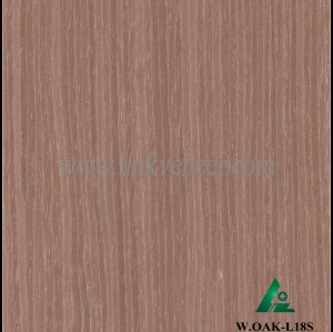 W.OAK-L18S, Good Quality washed oak engineered wood veneer