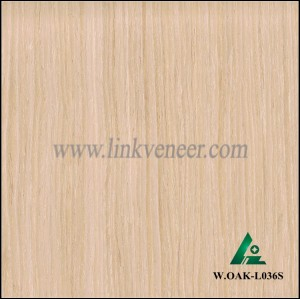 W.OAK-L036S, washed oak fancy veneer, beautiful engineered wood veneer