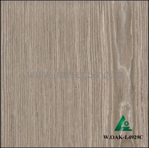 W.OAK-L4929C, High Grade washed oak, artificial wood veneer
